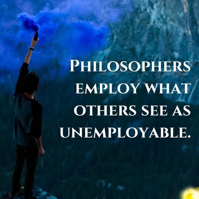 philosophy employment